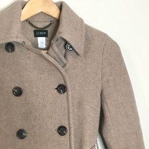 J. Crew Sz 2 Wool Full Length Coat